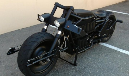Batman Inspired Motorcycle Complete With Flamethrower For Sale On Ebay.