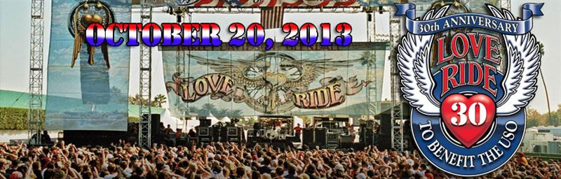 Love Ride 30th Anniversary Los Angeles California