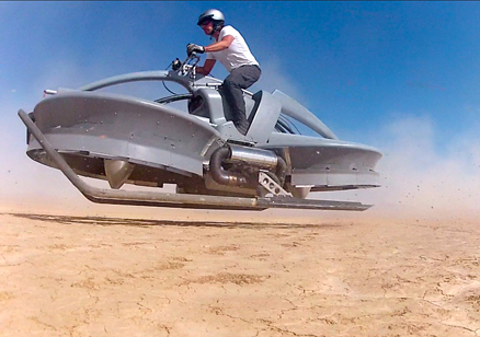 The Future Is NOW: Introducing The Hoverbike