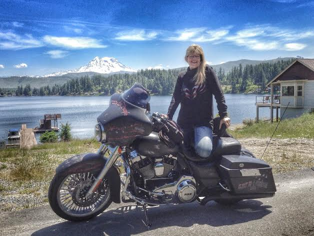 Lady Road Dog Joan Krenning on Three-Year American Motorcycle Tour