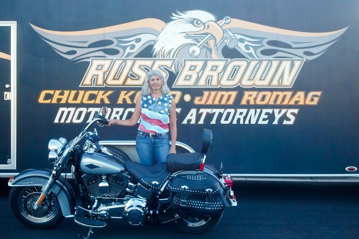 Meet Our Harley Winner Janet DeSimone!