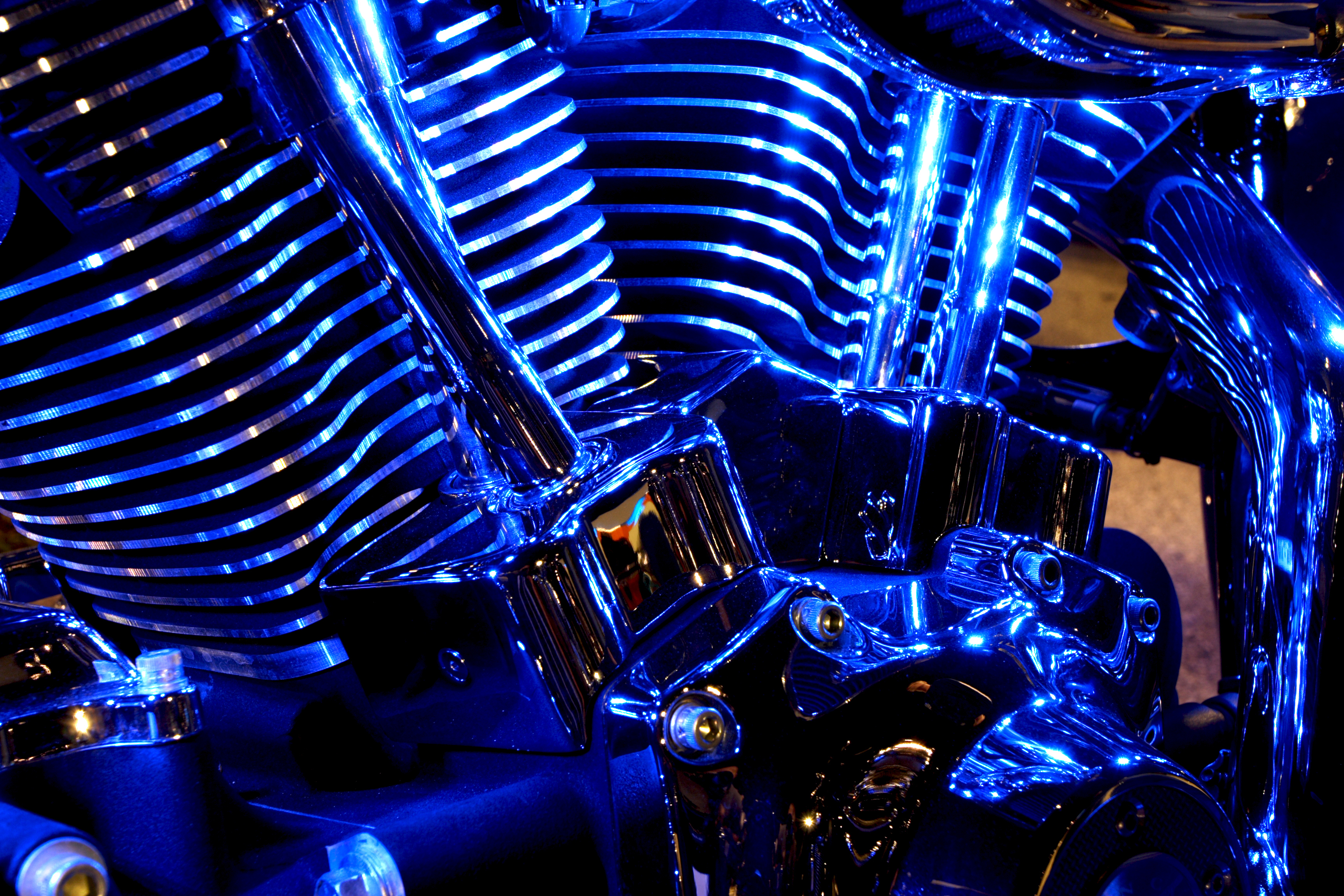 Texas Law Clears Up Confusion Over LED Lights on Motorcycles