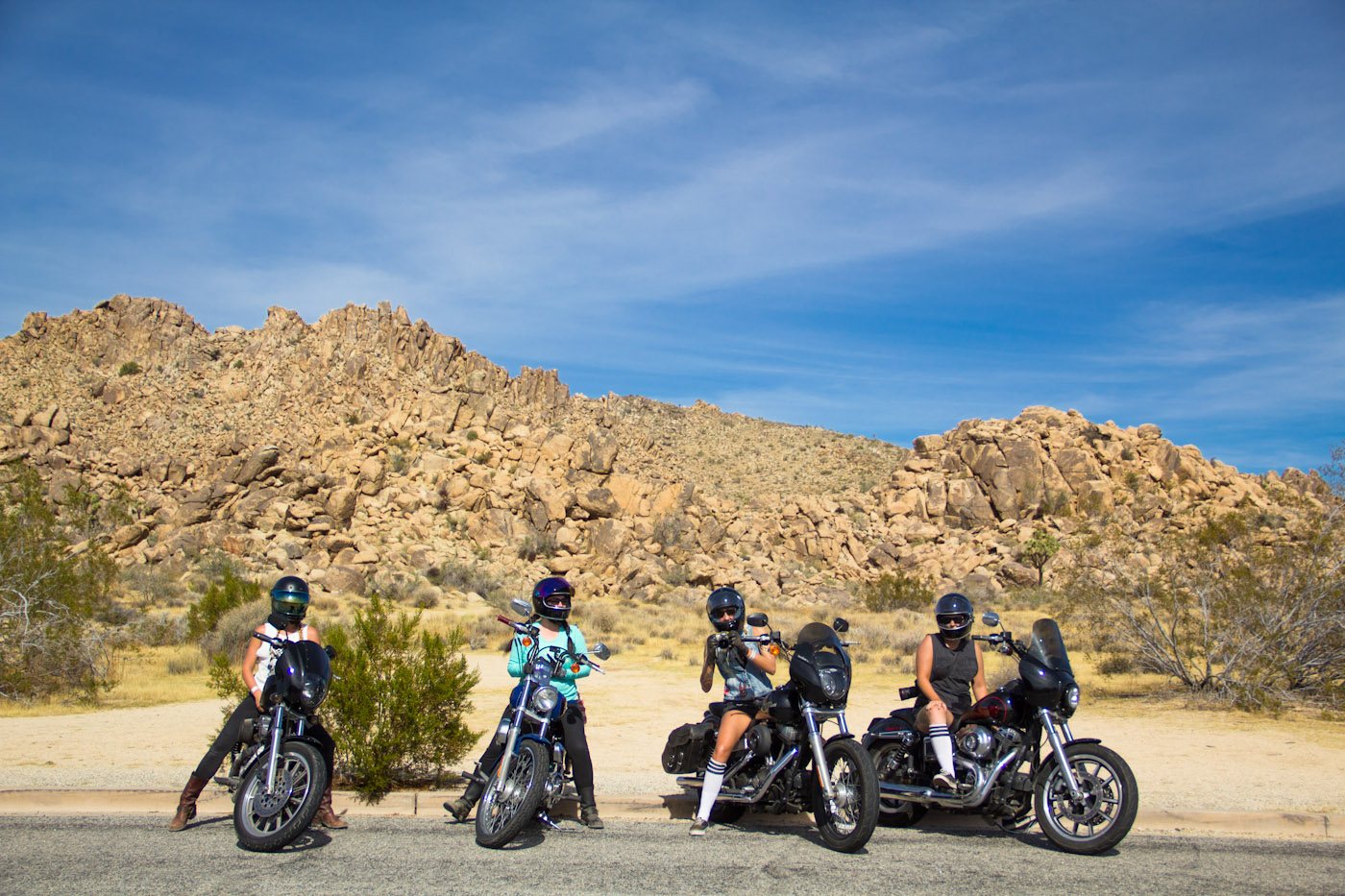 Babes Ride Out- 1200 Women Riders in the Desert