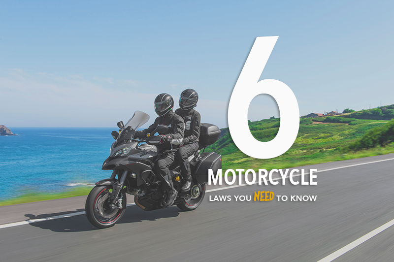 Six California Motorcycle Laws You Need to Know