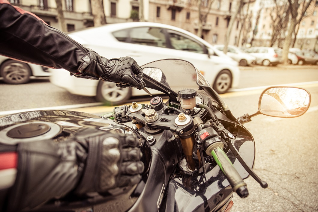 Motorcycle Lane Splitting ab51Bill Moving Forward