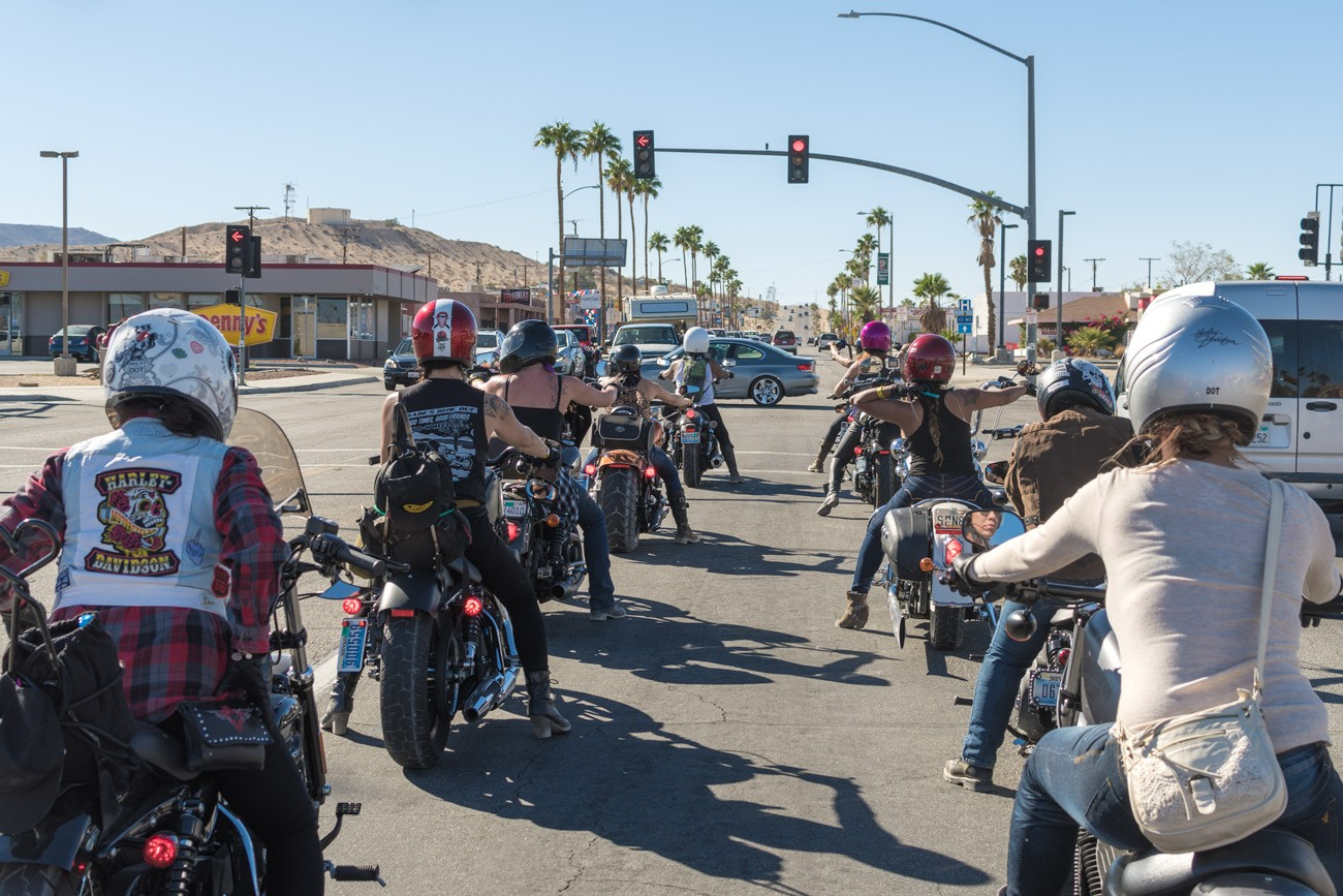 Babes Ride Out Women Riders Rock the Joshua Tree Desert