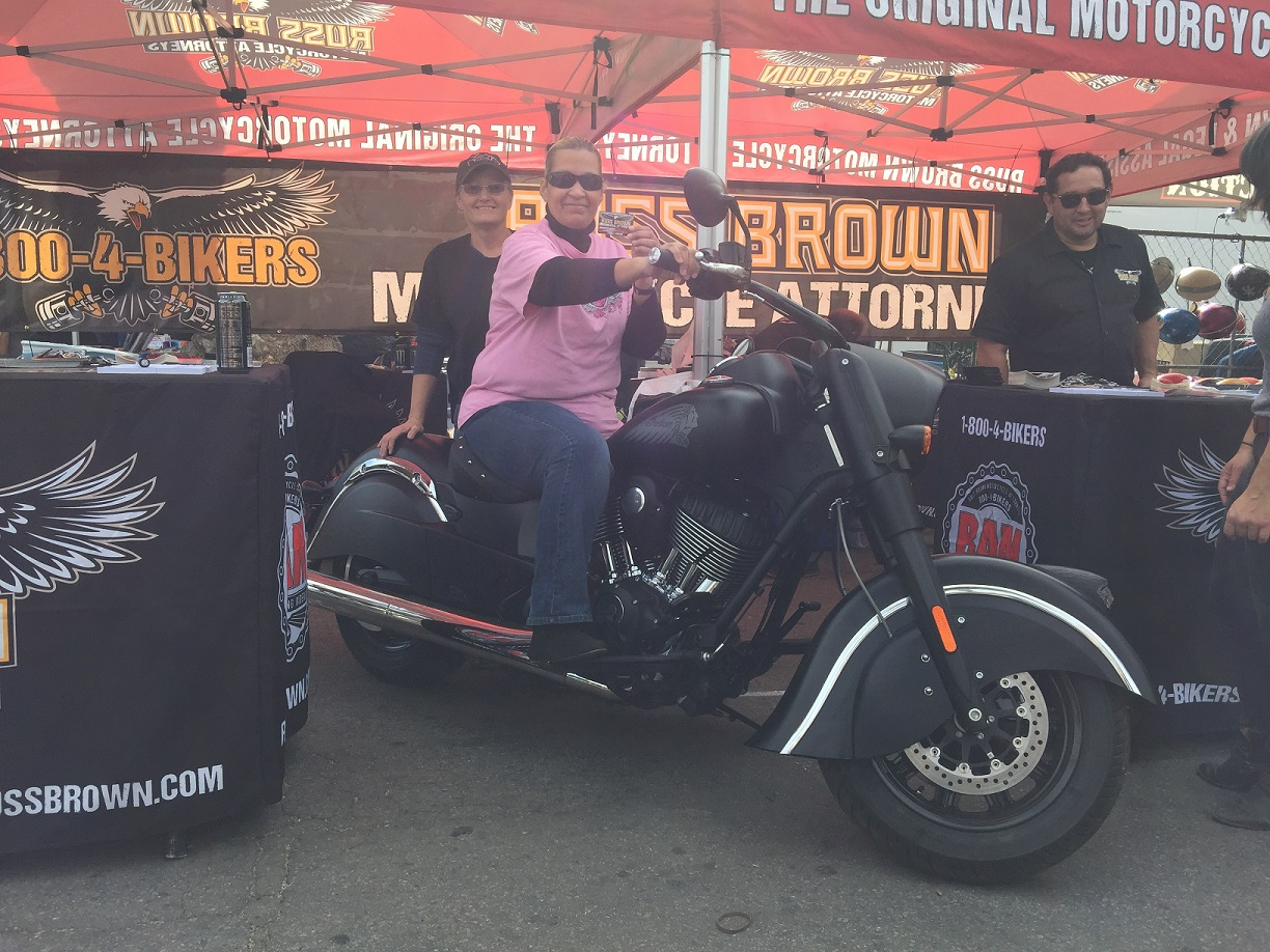 Meet the Winner of our 2016 Indian Chief Bike Giveaway!