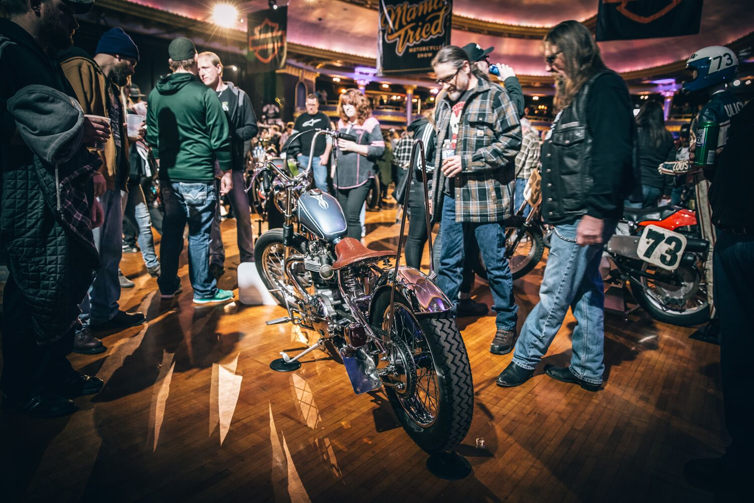 Mama Tried Motorcycle Show Recap