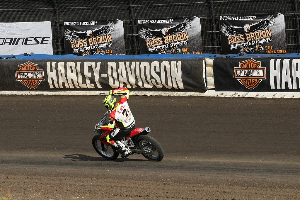 Indian Sweeps the Calistoga Half-Mile with American Flat Track