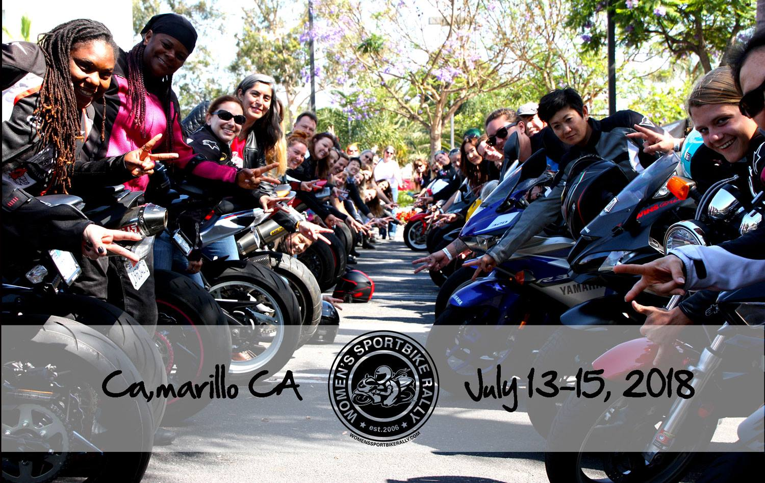 13th Annual Women's Sportbike Rally (WSR) West