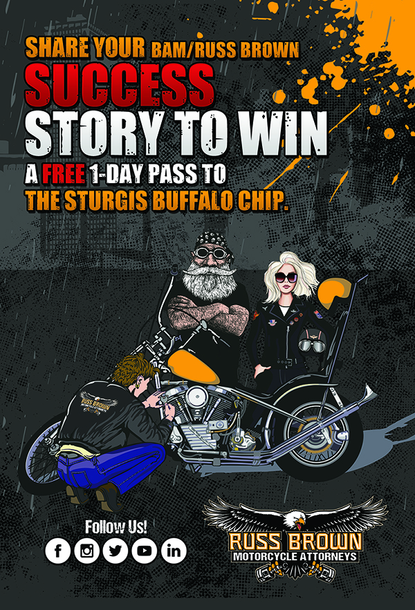 Give Your Story – Get A Sturgis Buffalo Chip Day Pass!