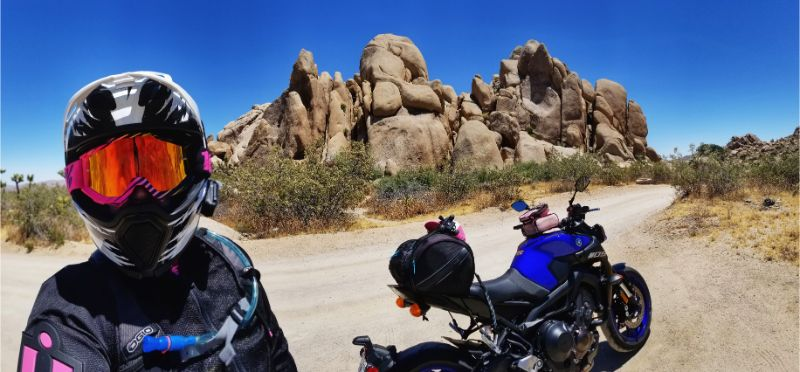 Solo Motorcycle Adventure: Joshua Tree National Park