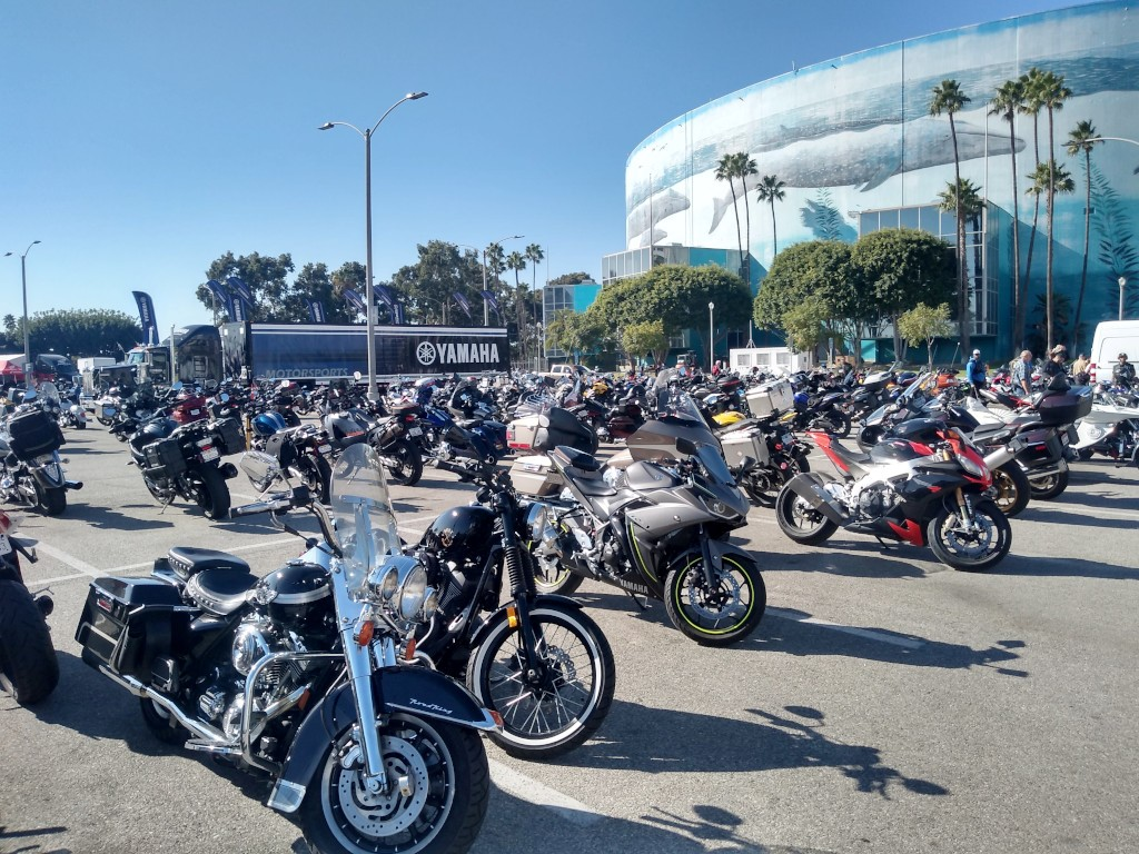The Long Beach International Motorcycle Show