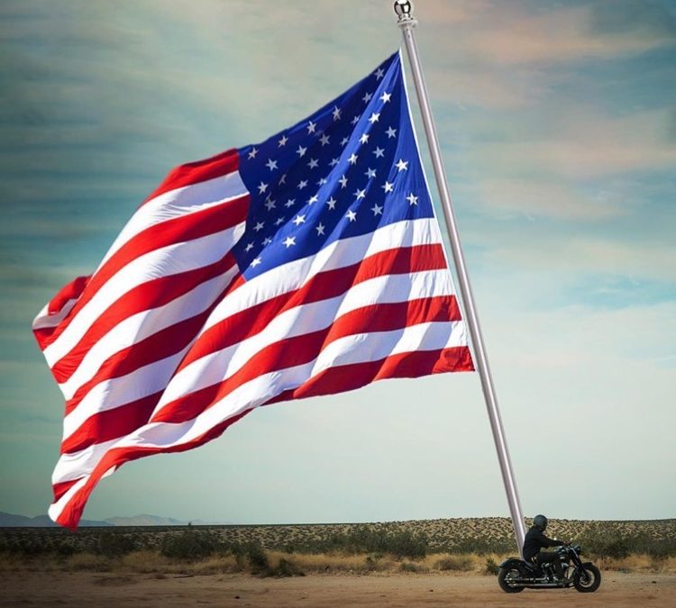 New World Record: Biggest Flag Flown On A Motorcycle