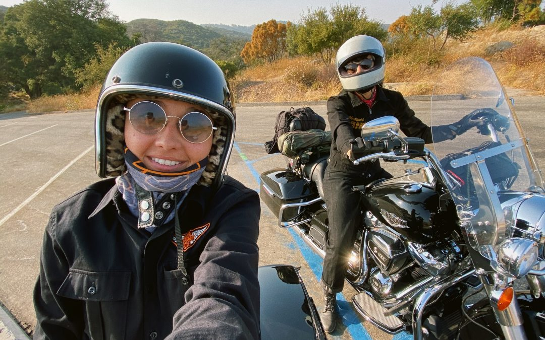Adri and Becky Get Big Bikes: Little Ride A Cruise Through Inland SoCal