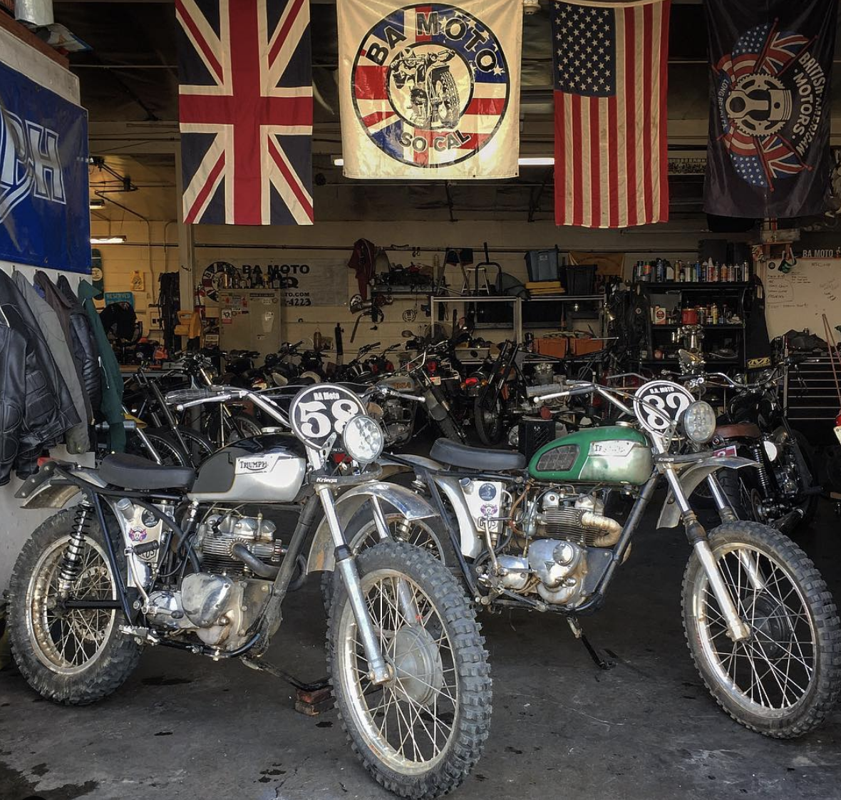 BA MOTO : Modern & Vintage British Motorcycle Shop Established in 2006