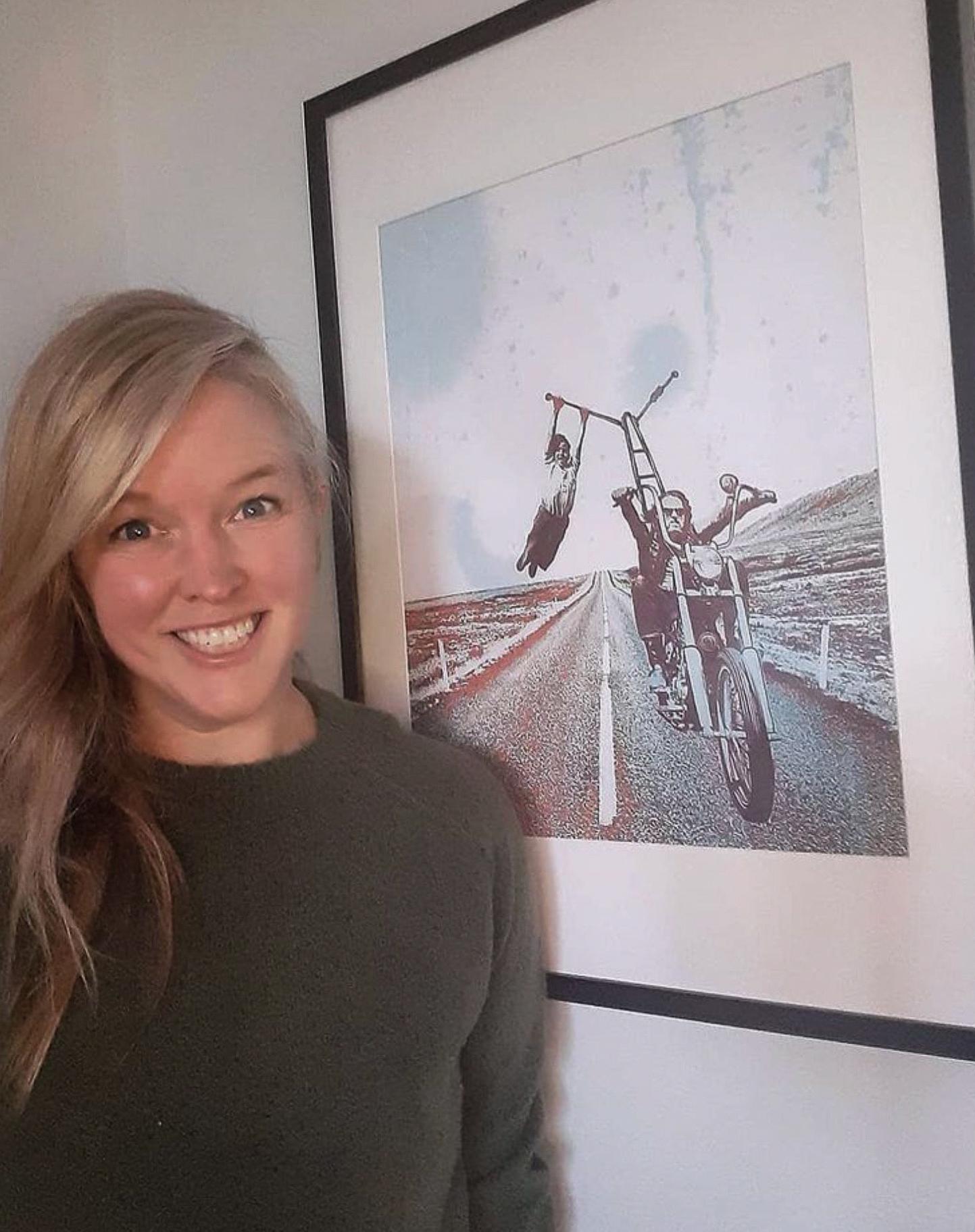 Caroline Perron – Maiden Moto